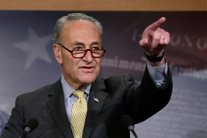 Sen. Chuck Schumer urges the president to just let Congress handle it.