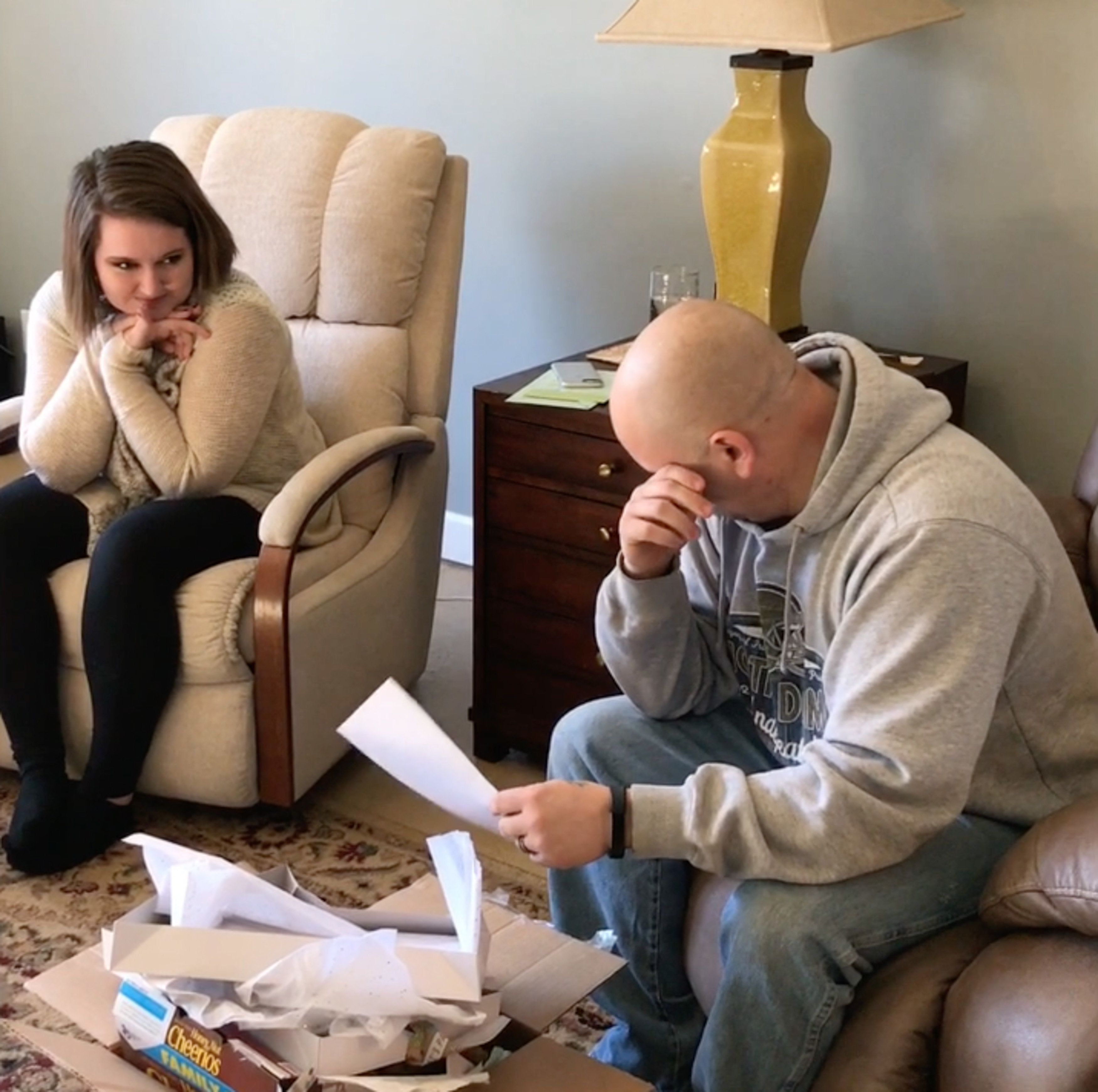 Man Tears Up When Stepdaughter Asks Him To Adopt