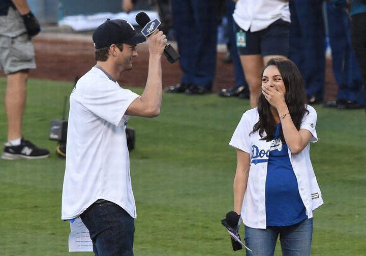 Kutcher and Kunis havea newborn son and toddler daughter.