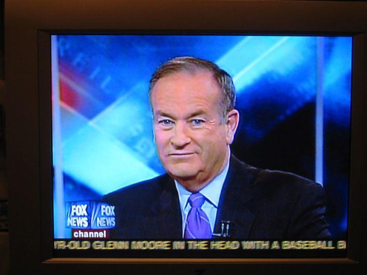 "Bill O'Reilly on Fox News. Via <a rel=""nofollow"" href=""https://www.flickr.com/photos/87913776@N00/517077576/in/photolist-MGa9"