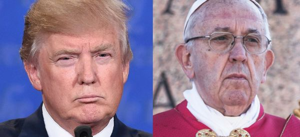 Trump Doesn't Appear Interested In Meeting With The Pope In Italy