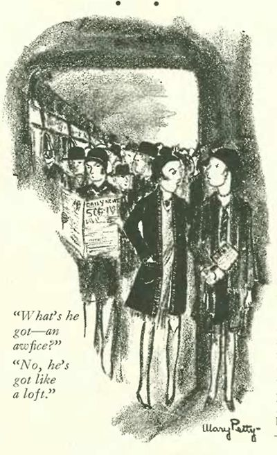 <strong>1928 New Yorker Cartoon</strong>