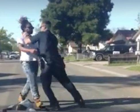 Man beaten while jaywalking says it's a blur