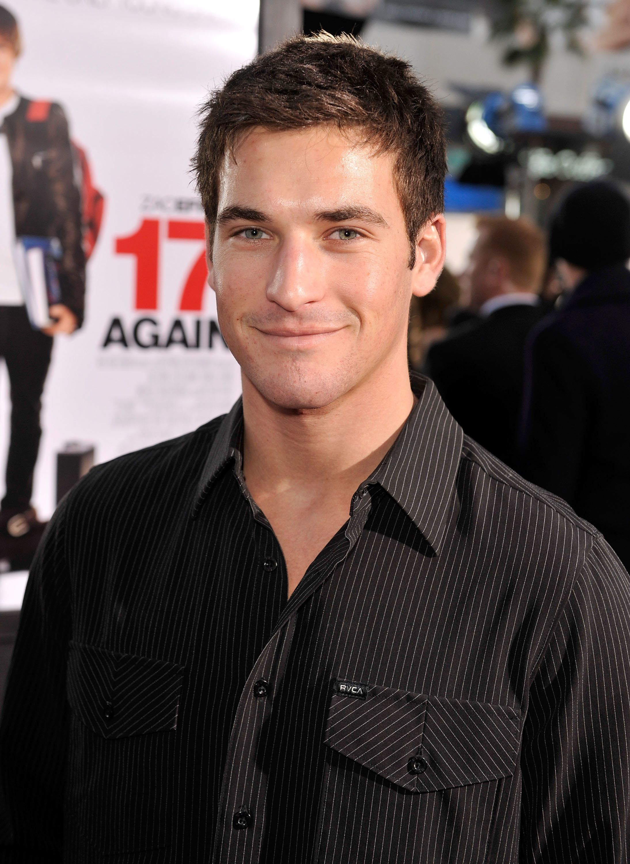 "Clay Adler at the premiere of ""17 Again"" in 2009."