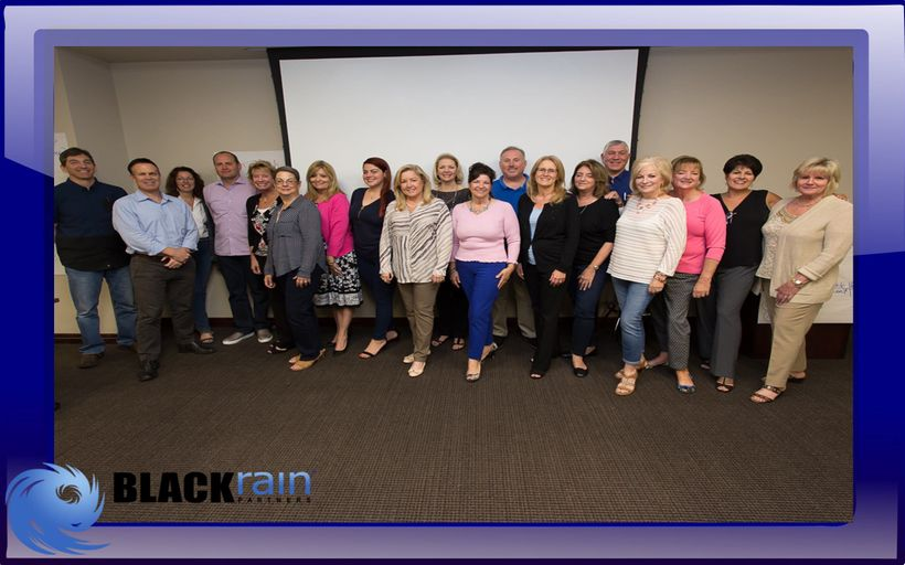 BlackRain had the pleasure of working with this incredible Business Development Team from The Fund
