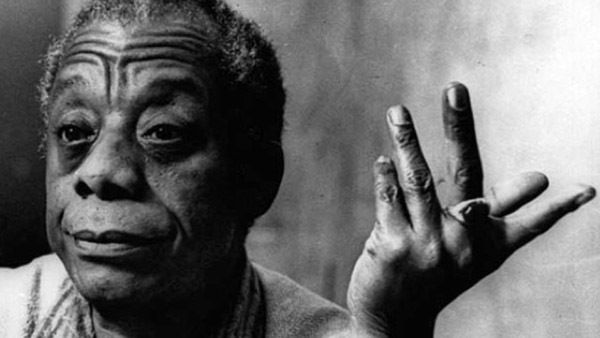 """Author James Baldwin """"The question you got to ask yourself ... the white population of this country's got to ask itself is, '"""