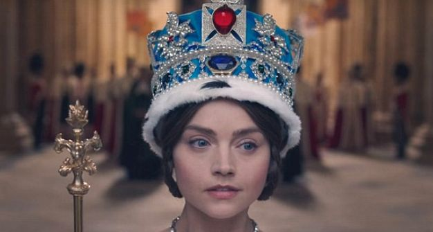 Jenna Coleman will be staying put as a young Queen