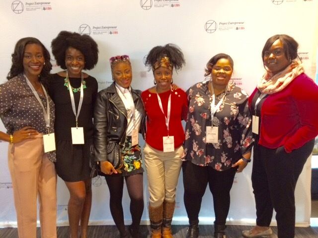 DC Female Founders at the Project Entrepreneur Intensive