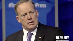 Sean Spicer Apologises Again For 'Inexcusable' Adolf Hitler