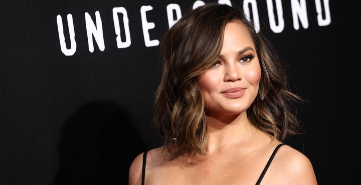 "Chrissy Teigen at the premiere of WGN America's ""Underground."""