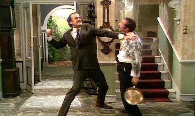 John Cleese in 'Fawlty Towers', which finished in
