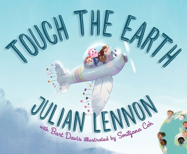 Lennon's new children's book is called <i>Touch The Earth</i>.