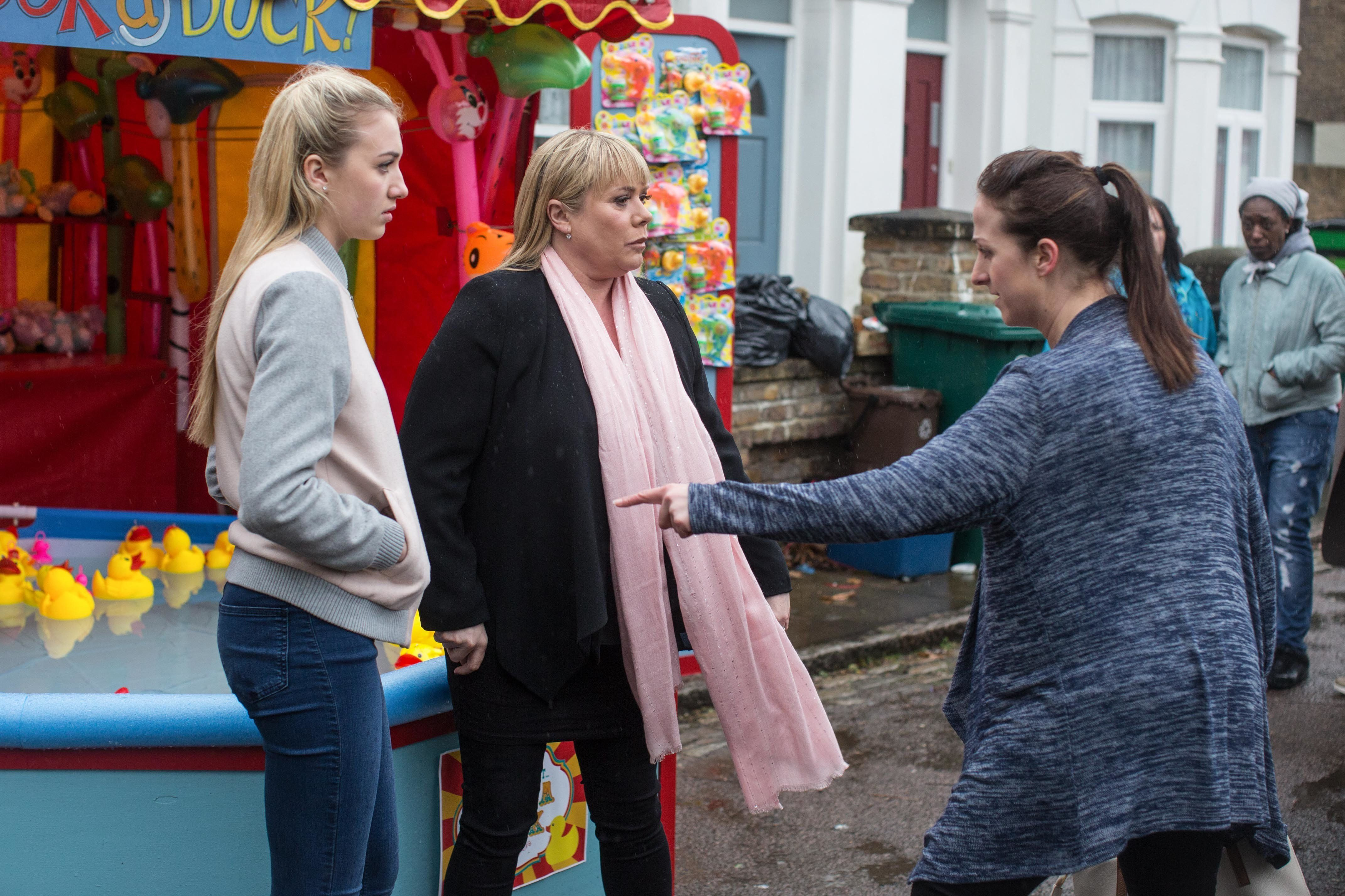 Spoiler! It's Sonia Fowler vs Louise Mitchell In
