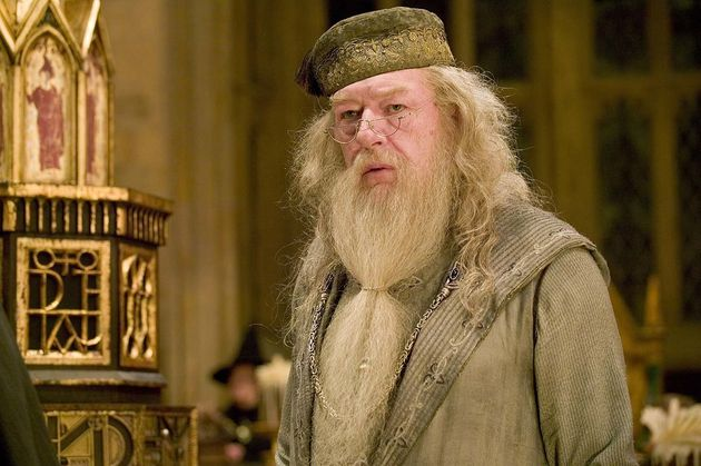 Michael Gambon took over the role of Dumbledore in the original series, following Richard Harris's