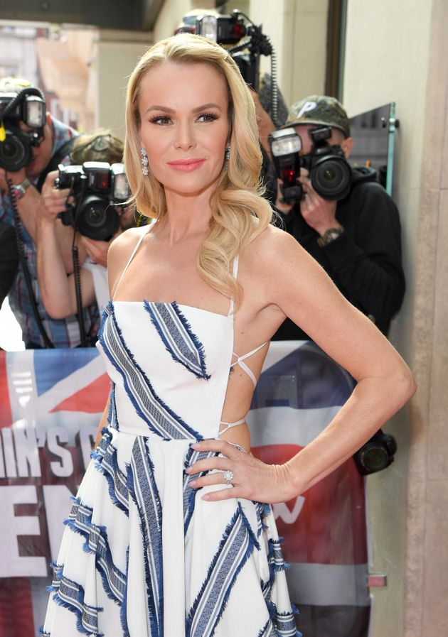 Amanda Holden at the 'Britain's Got Talent' press
