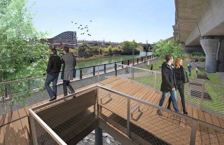 <p>The walkways will connect several Boston neighborhoods.</p>