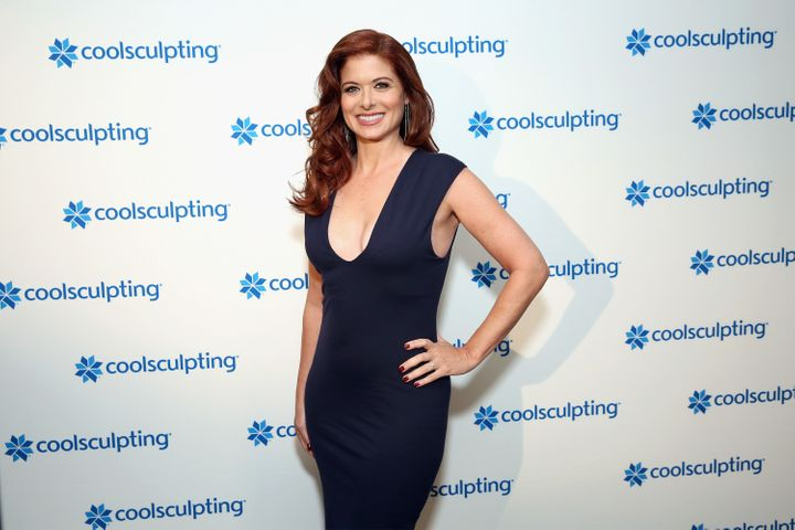 Debra Messing is the new the Global Brand Ambassador for CoolSculpting.