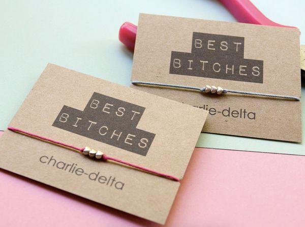 "<a href=""https://www.etsy.com/listing/246422993/best-bitches-friendship-bracelet-wish?ref=market"" target=""_blank"">""Best Bitch"