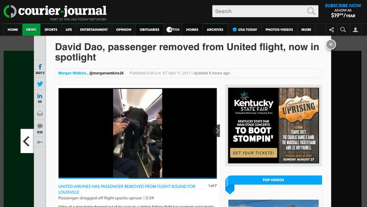 United Airlines to refund tickets to all passengers aboard notorious flight