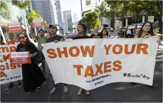 On Saturday, April 15th, 2017, Tax Marches will take place across the United States, including in Washington, D.C., to urge P