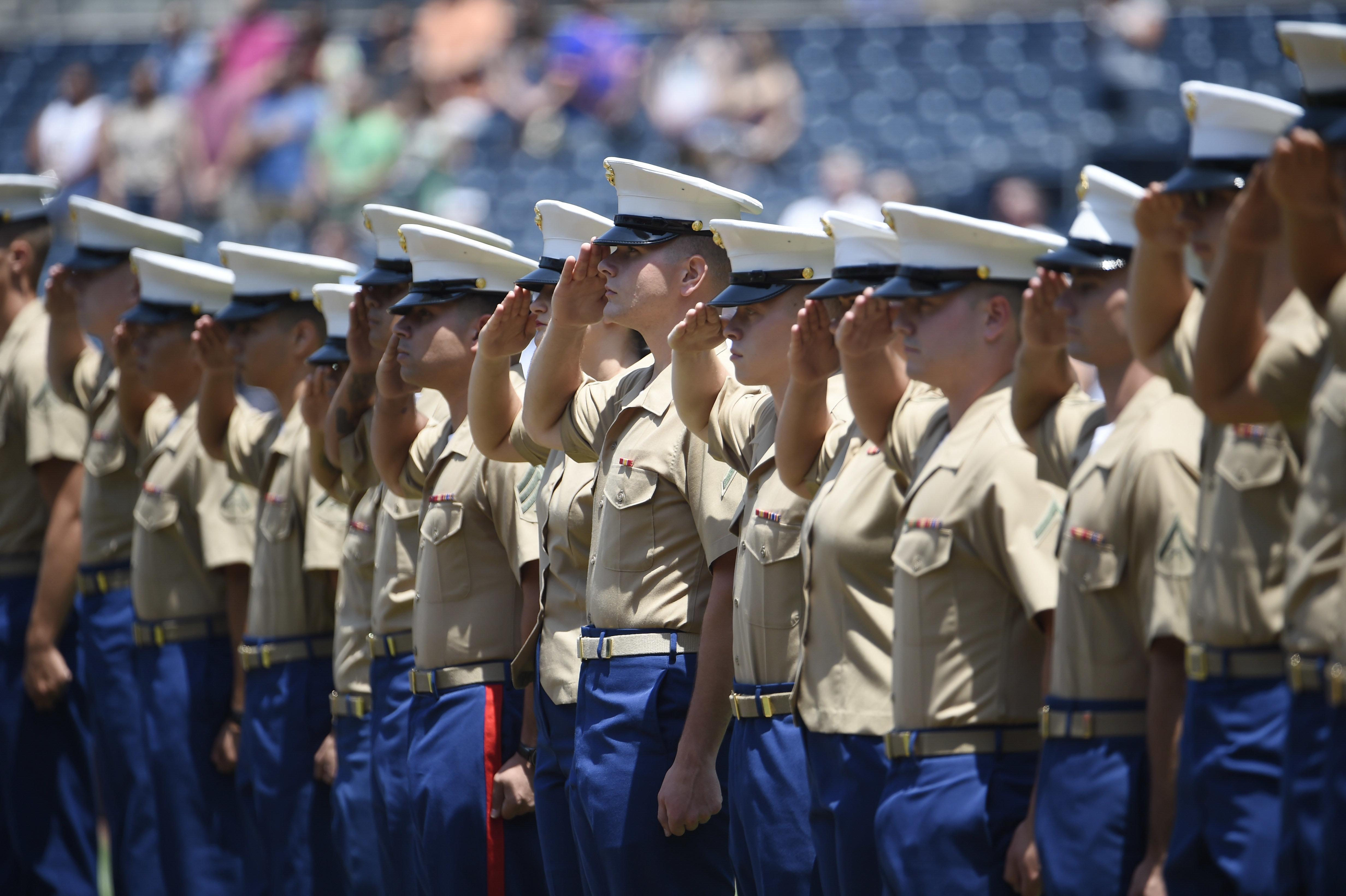 93 female marines write letter urging service to address rampant