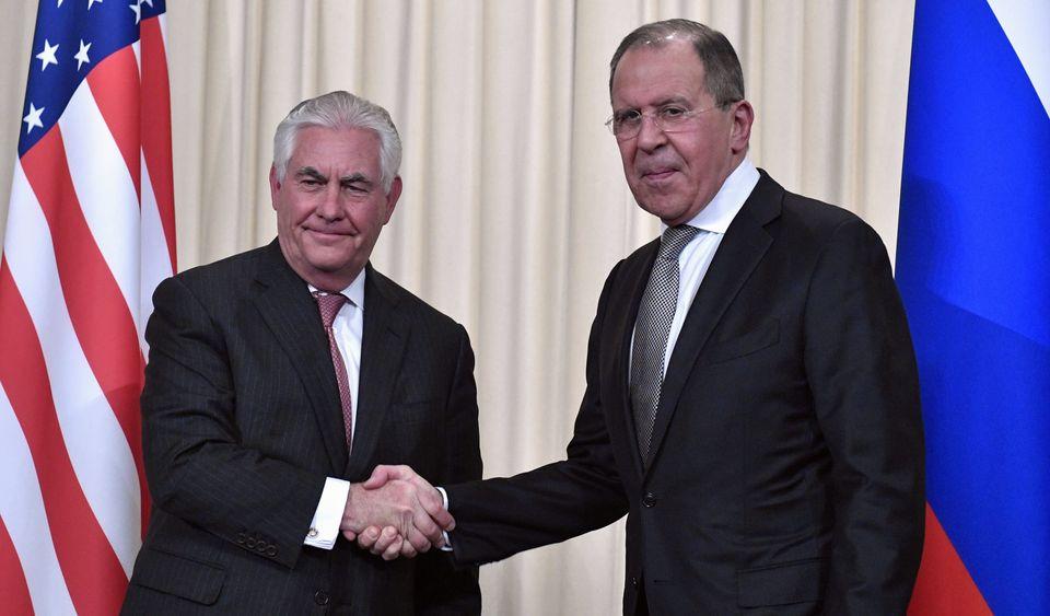 As relações russo-americanas estão ficando ainda mais frias, graças ao ataque de Trump na Síria.