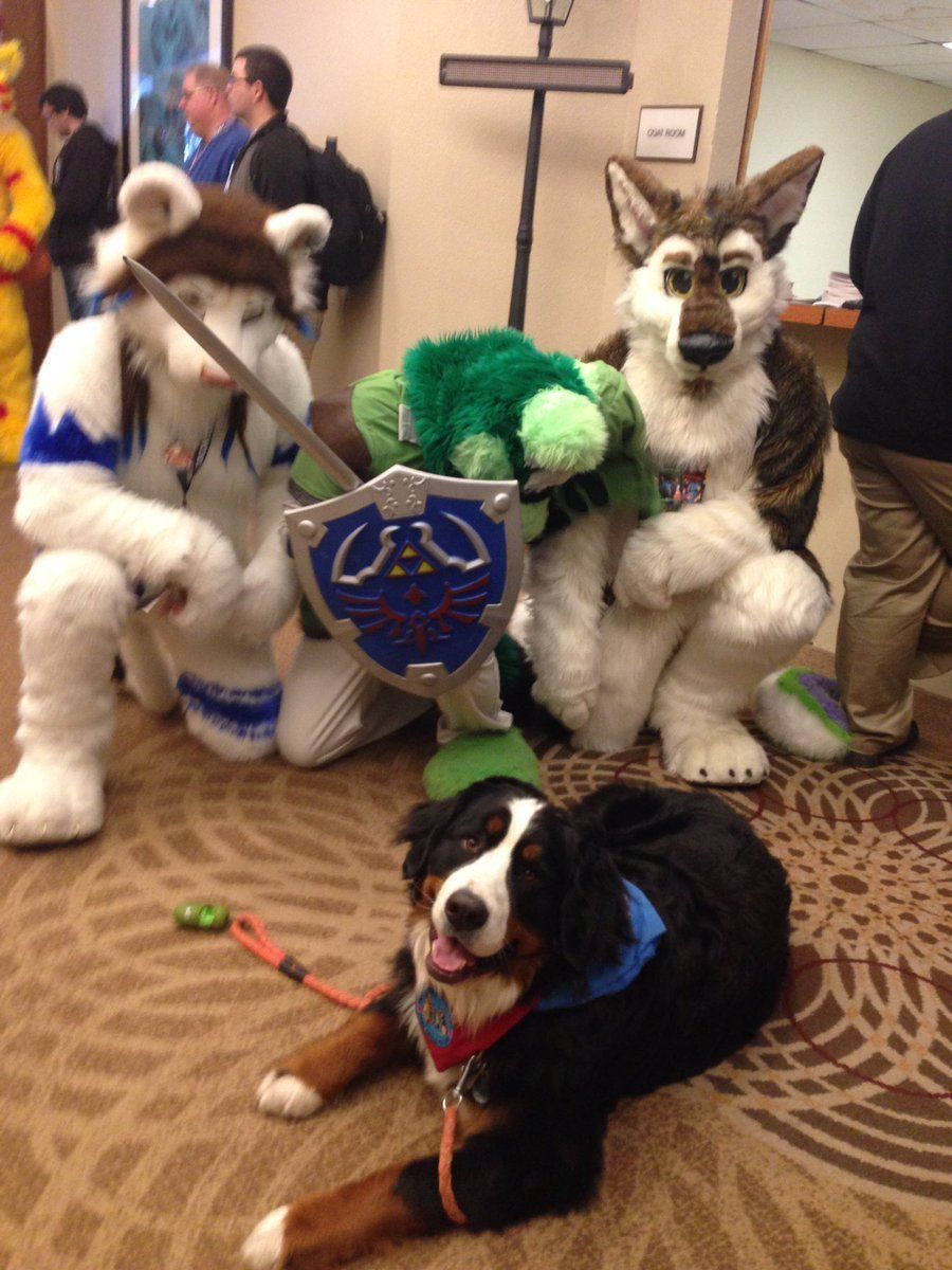Woman Brings Dog To Furry Convention, Thinking It's A Gathering For