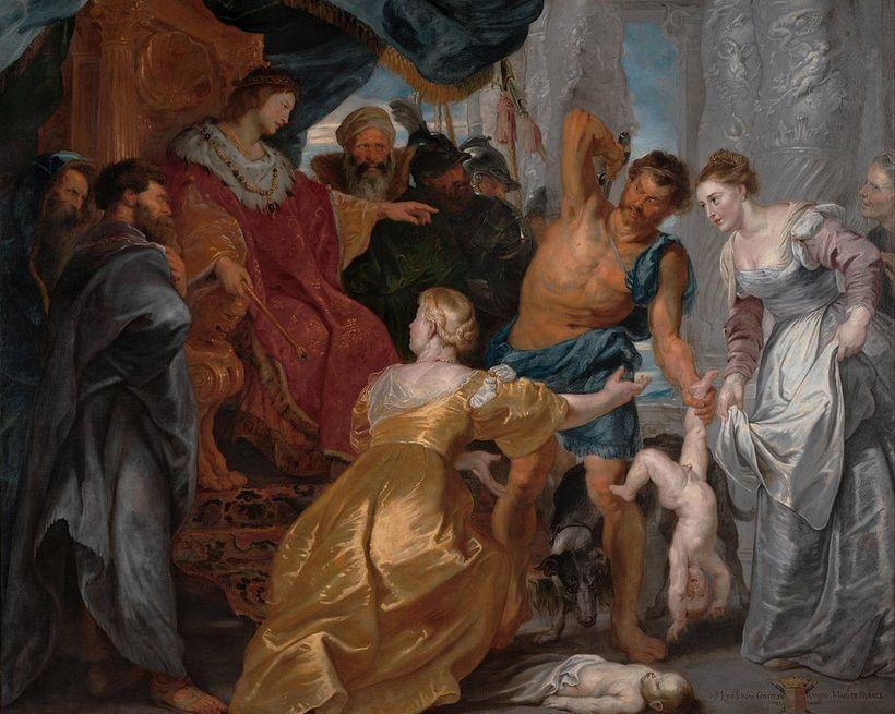 Peter Paul Rubens, 1615-1700, The Judgement of Solomon