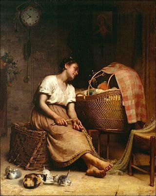 Paul Peel, Mother Love, 1888