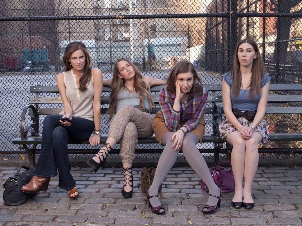"The girls of ""Girls,"" season 1."