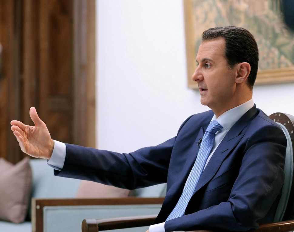 Before jumping to conclusions about Assad's guilt, an independent investigation must be conducted.