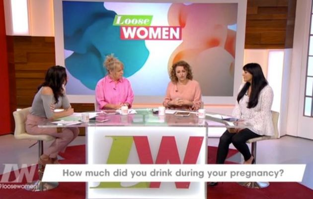 Nadia Sawalha Admits On 'Loose Women' That She Drank Alcohol While Pregnant With Daughter
