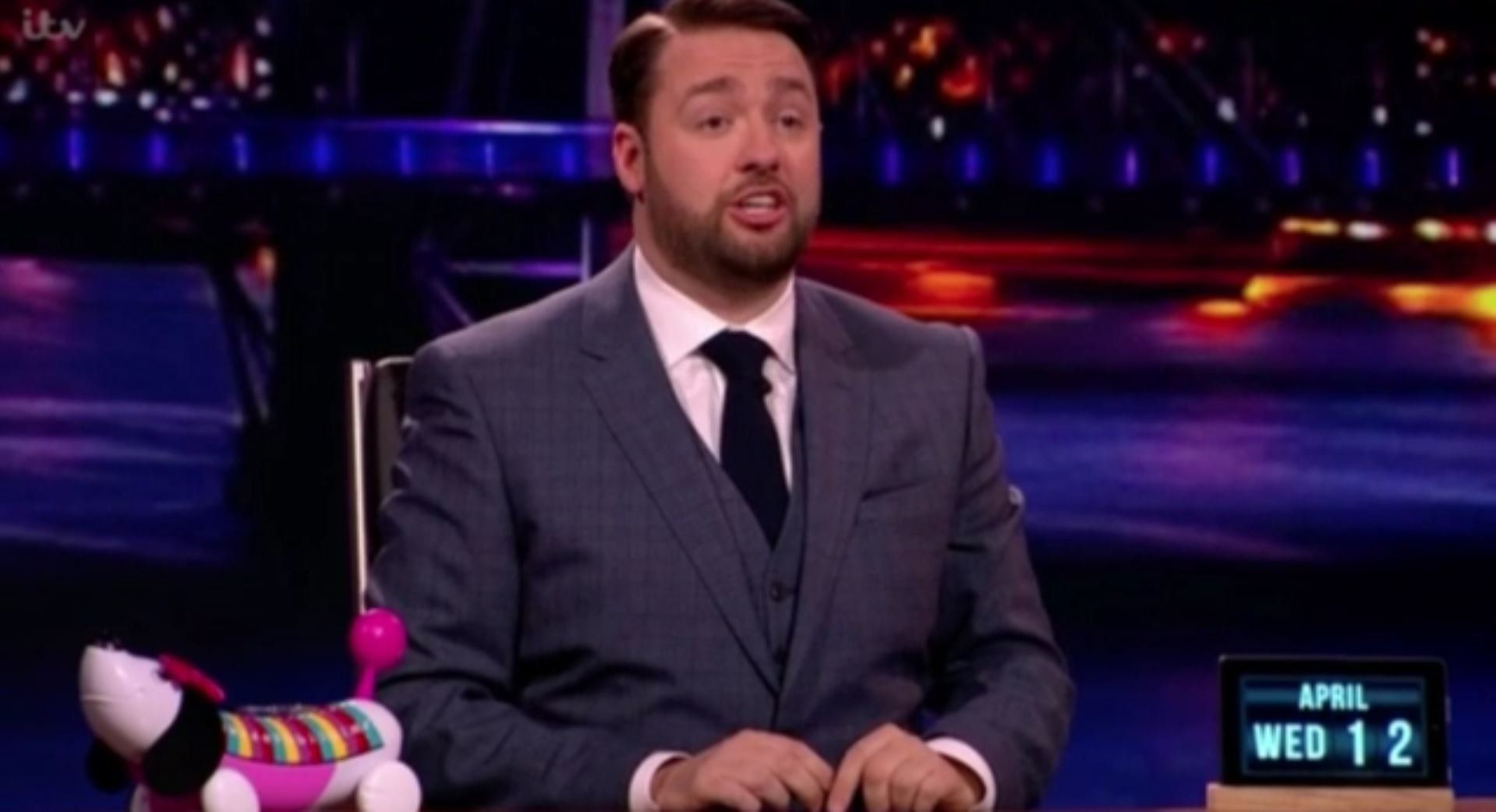 Jason Manford Shares Mortifying Holiday 'Ball' Story About His Daughter On 'The Nightly