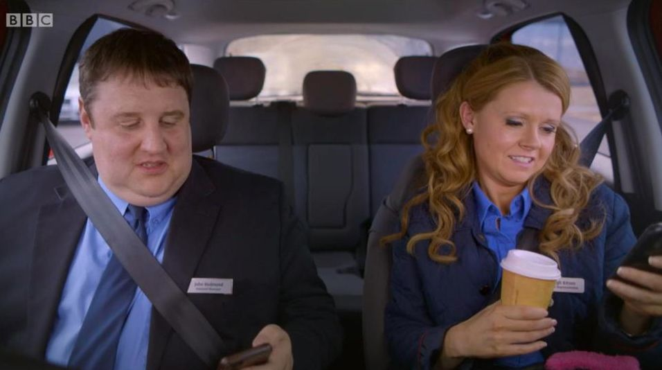 'Peter Kay's Car Share' Sparks Debate Over His Use Of Mobile Phone On The