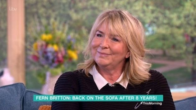 Fern Britton returned to 'This