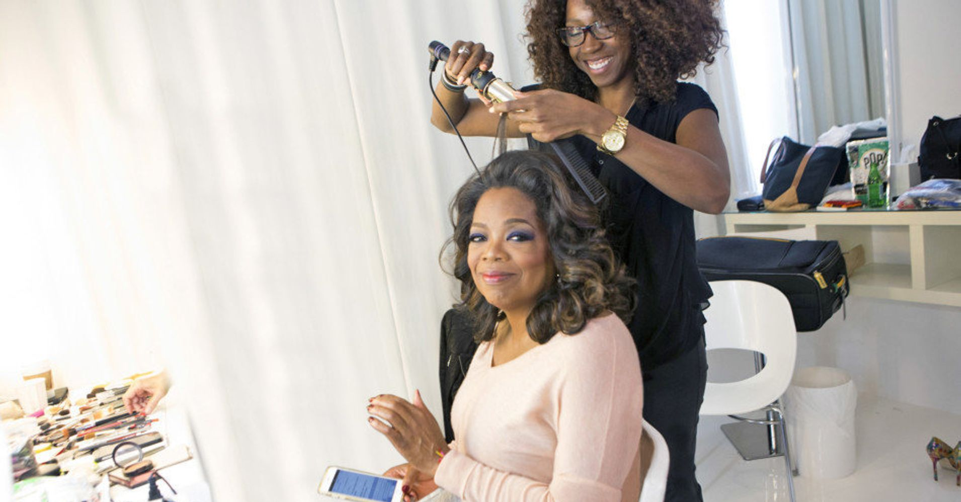 Meet The Woman Who Does Oprahs Hair Huffpost