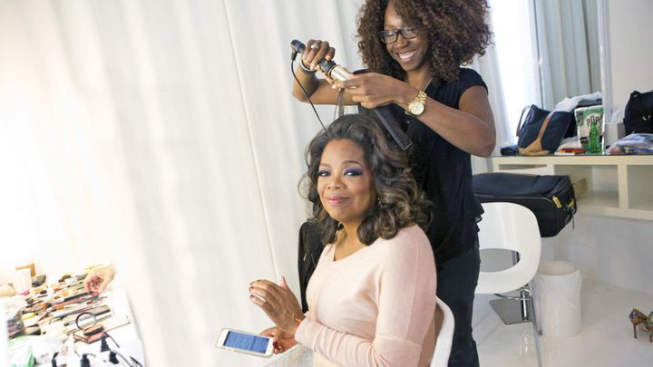 Meet The Woman Who Does Oprah S Hair Huffpost