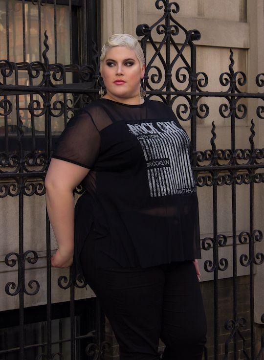 La mode selon Shay Neary, mannequin transgenre et taille