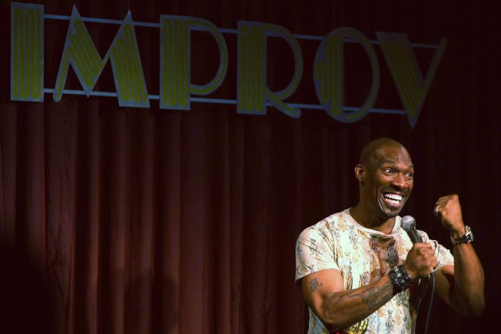 Charlie Murphy at the Improv.