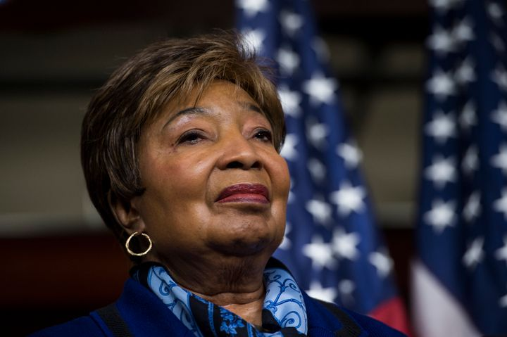 "Rep. Eddie Bernice Johnson said that ""not a day passes"" that she doesn't hear from worried Muslim American constituents."
