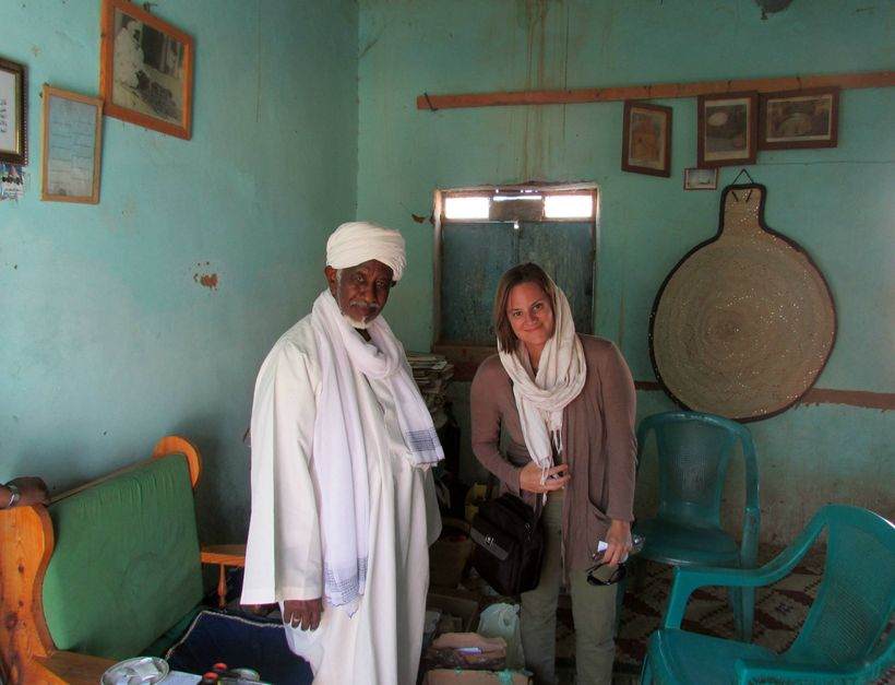 Meeting Sufi sheikhs in Sudan