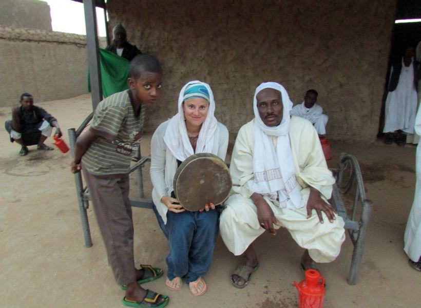 Sufi caravan in Sudan
