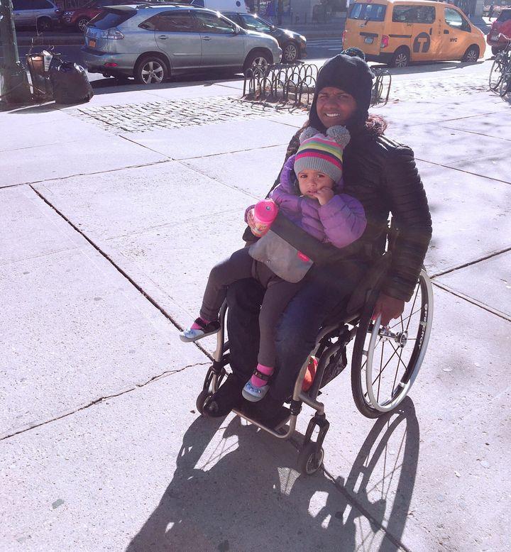Minda Dentler with her daughter