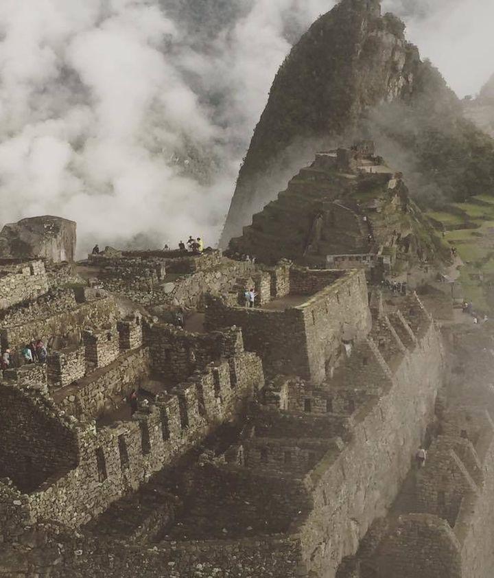 Machu Pichhu April 2017