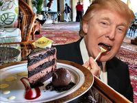 Is Trump S Chocolate Cake Really The Most Beautiful You Ve Ever
