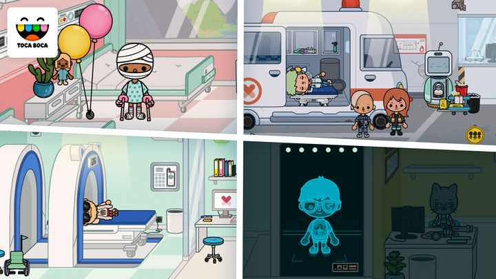 """""""Toca Life: Hospital gives kids unlimited space to discover the happenings of a busy medical center at their own pace, helping to increase their comfort level around hospitals,"""" saidplay designer Petter Karlsson."""