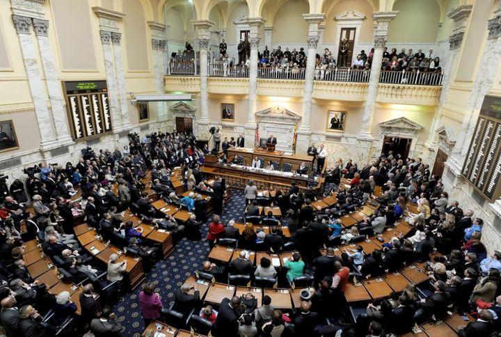 <p>Maryland State Legislature</p>