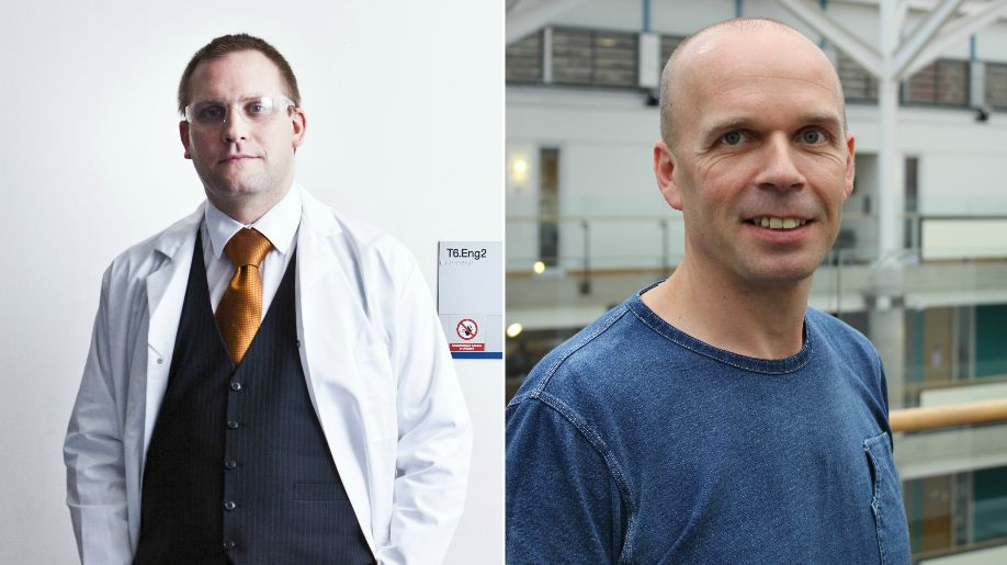 Dr Oliver Sutcliffe and Dr Rob Ralphs (right) of Manchester Metropolitan University are researching Spice...