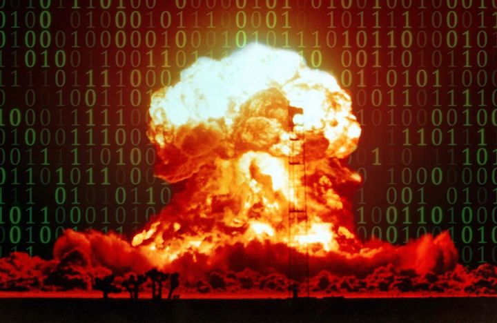 A National Intelligence Council report explores a hypothetical future in which a nuclear bomb explodes during a crisis betwee