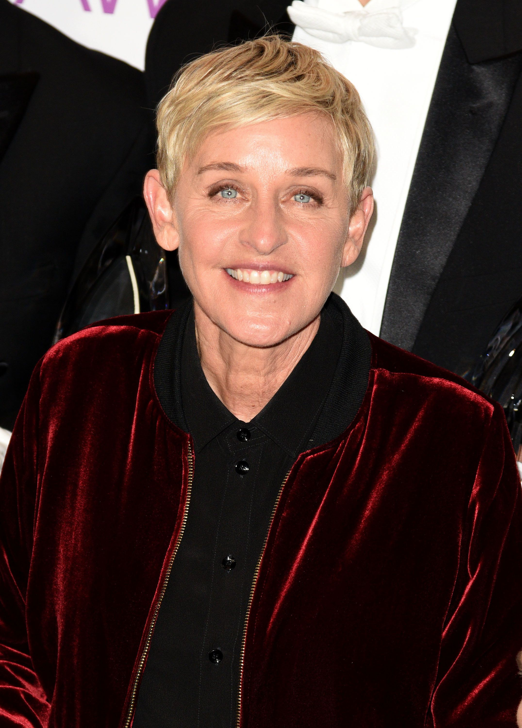 LOS ANGELES, CA - JANUARY 18:  Ellen DeGeneres poses at the People's Choice Awards 2017 at Microsoft Theater on January 18, 2017 in Los Angeles, California.  (Photo by C Flanigan/Getty Images)